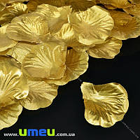 Лепестки розы, 50х50 мм, Золотистые, 10 г (DIF-015346)