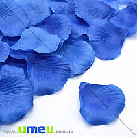 Лепестки розы, 50х50 мм, Синие, 10 г (DIF-015345)