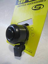 Вело звонок Spelli SBL-426AP (черный) механический, фото 3