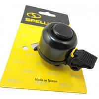 Вело звонок Spelli SBL-426AP (черный) механический