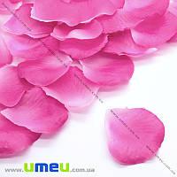 Лепестки розы, 50х50 мм, Малиновые, 10 г (DIF-015338)
