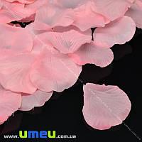 Лепестки розы, 50х50 мм, Розовые, 10 г (DIF-015341)