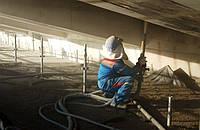 Торкрет бетонирование, набрызг бетона, аренда торкрет оборудования.
