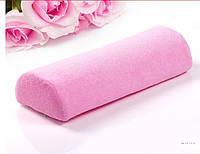 Подушка для маникюра с тканевым покрытием