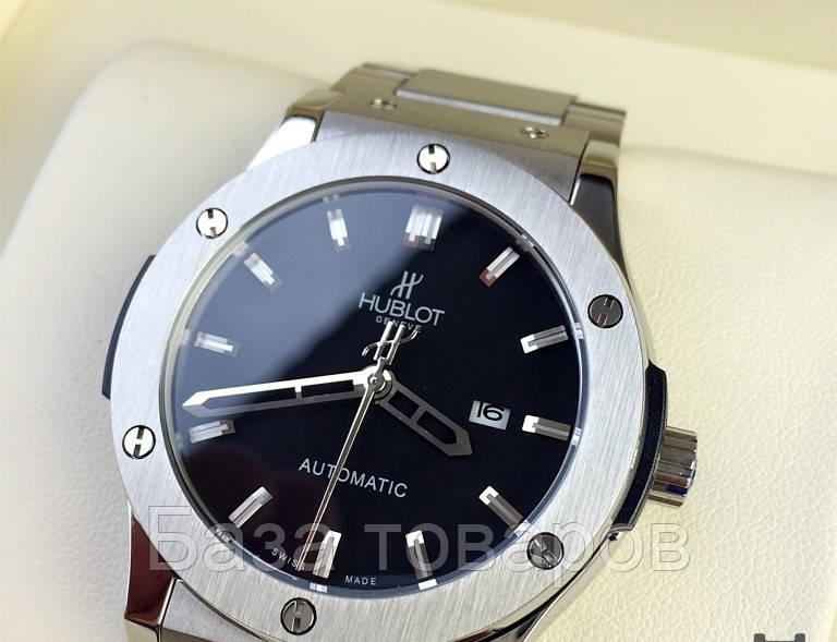 Часы Hublot с металлическим ремешком fceafdb8e7ac7