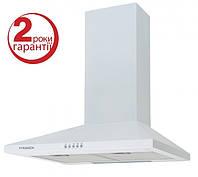 Pyramida KS-60 (600 мм.)цвет белая эмаль, купольная, кухонная вытяжка, фото 1