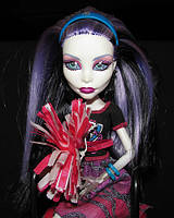Кукла монстер хай Спектра серии Командный дух Monster High Ghoul Spirit Spectra Vondergeist