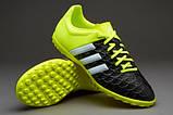 Детская футбольная обувь (многошиповки) Adidas X15.4 TF Junior, фото 6