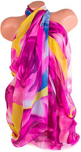 Замечательный женский шарф из натуральной ткани 182 на 84 см. ETERNO (ЭТЕРНО) P-P-19