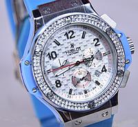 Женские кварцевые часы Hublot Big Bang Blue HU5903