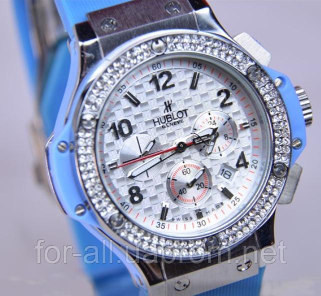 Женские кварцевые часы женские наручные часы Hublot Big Bang Blue ... 77531938862
