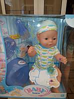 """Пупс """"Baby Born"""" ВL 015 F-S функциональный"""