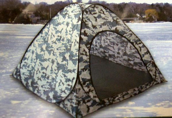 Палатка зимняя с дном (автомат) 2,5х2,5х1,7м