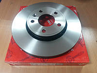 "Тормозной диск передний на Renault Trafic, Opel Vivaro 2001- > ""TRW"" DF4275S - производства Германии"