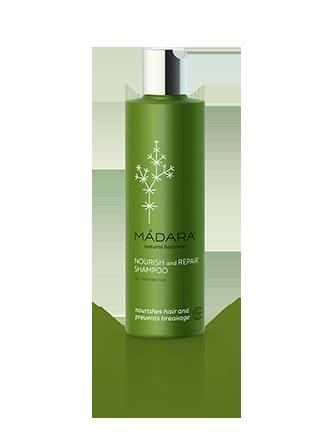 Органический шампуньNourish & Repair для сухих и поврежденных волос  Madara