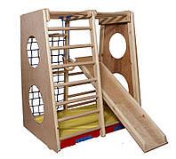 Детский деревянный спортивный комплекс Кроха