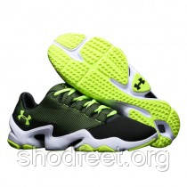 Мужские кроссовки Under Armour Phenom Proto Low Black/Green/White