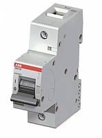 Автоматический выключатель ABB S801B-C80  тип C, 80А однополюсной