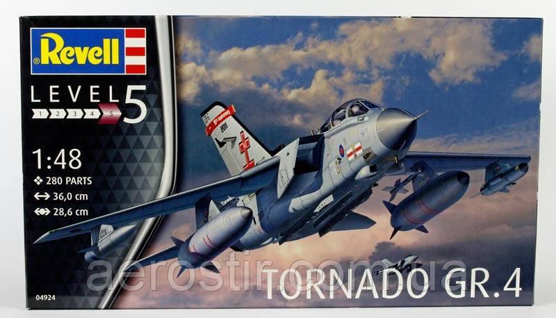 Самолет  'TORNADO GR.4'     1\48     Revell  04924