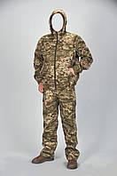 Костюм камуфляжный пиксель светлый ,с капюшоном,летний,мужской р48-56