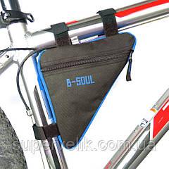 Треугольная сумка под раму велосипеда B-SOUL