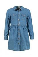 Джинсовое платье-рубашка Glo Story 9692 (р.104.116.128)
