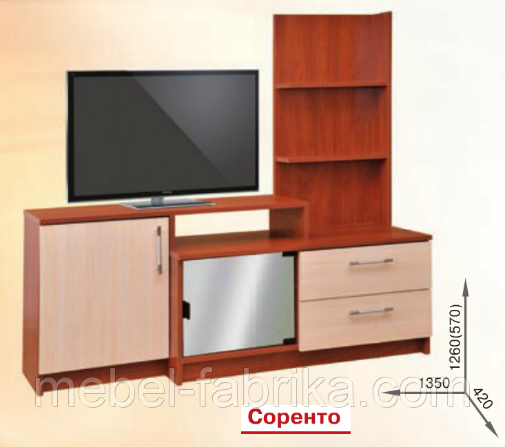 ТВ тумба Соренто Пехотин