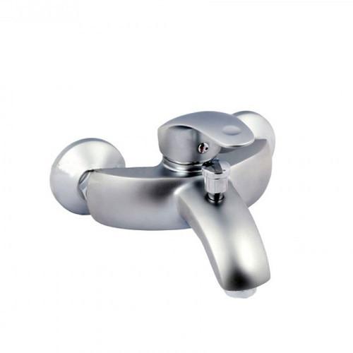 Смеситель для ванны Haiba Mars Satin с коротким литым гусаком