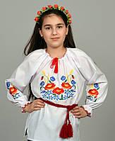 "Вышиванка для девочки ""Колоски"" ДБ12"