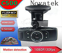 Автомобильный видеорегистратор C500 Novatek Full HD 1080P with G-sensor, фото 1
