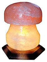"""Соляной светильник """"Грибок"""" 3-4кг размеры: 21см*12см*12см. Провод с регулятором, индивидуальная упаковка"""