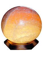 """Соляной светильник """"Шар"""" 6-7 кг размеры: 18*18*22см"""