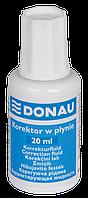 Корректирующая жидкость DONAU 20мл (7615001)