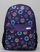 Модный рюкзак для девочки. Красочный школьный рюкзак. Яркий рюкзак. Вместительный рюкзак. Код: КТМ295.