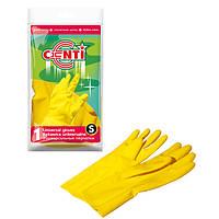 Перчатки резиновые S CENTI York Y-092130