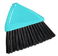 Щетка ИВОНА NY FLOWER, 340 x 270 x 50 мм, голубой с черным York Y-050200