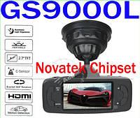 Автомобильный видеорегистратор 2.7Inch Novatek Chip GS9000L Full HD 1080P G-Sensor