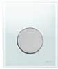Панель смыва  для писсуара ТЕСЕloop из белого стекла, фото 1