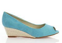 Туфли с открытым носком  размеры 38