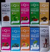 """Жидкость для электронных сигарет """"LIQUA"""" (Ликва) 10 шт"""