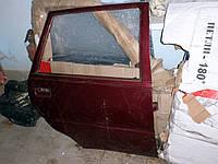 Дверь правая Славута 1105-6200026-01. Задняя правая дверь ЗАЗ-1103. Двери Б/У на ЗАЗ-1105 красного цвета, фото 1