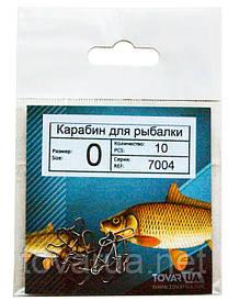 Карабины / застежки для рыбалки №0