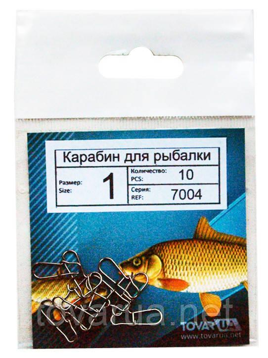 Карабины / застежки для рыбалки №1