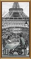 Набор для вышивания нитками Париж - город любви. Молодость АС 6009