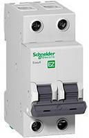 Автоматический выключатель EZ9F14263 2P 63A B Easy9 Schneider