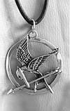 Подвеска из серебра Сойка-Пересмешница,Голодные Игры ПС-43 Б, фото 2