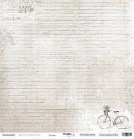 Бумага односторонняя 30х30см от Scrapmir French Provence Кладка, 1 шт