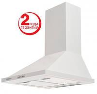 Pyramida KH-50 (500 мм.) цвет белая эмаль, купольная, кухонная вытяжка, фото 1