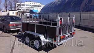 Прицеп 2,6м х 1,45для перевозки домашнего скота