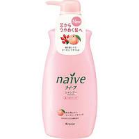 Шампунь для сухих волос восстанавливающий с экcтрактом персика и маслом шиповника Naive 550 ml  - оригинал